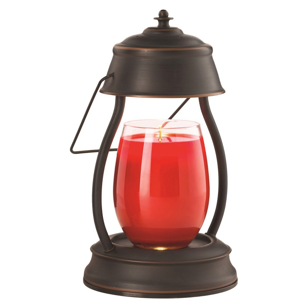 Image of Hurricane Candle Warmer Lantern Oil-Rubbed Bronze - Candle Warmers Etc.