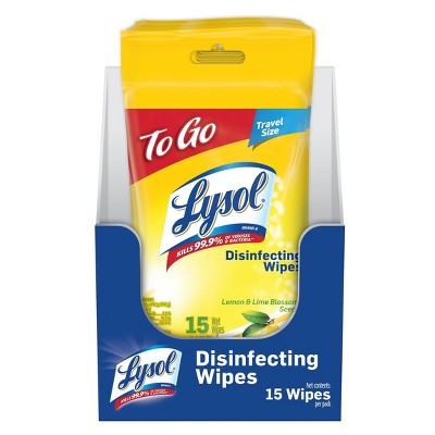 Lysol Disinfecting Wipes - Lemon and Lime Blossom