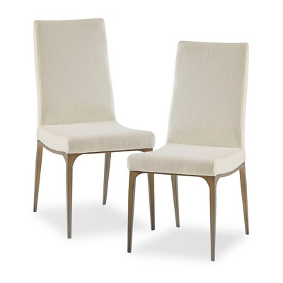 Set of 2 Hastings Dining Side Chairs Cream