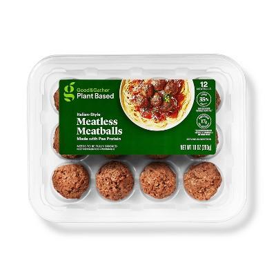 Plant-Based Meatballs - 10oz - Good & Gather™