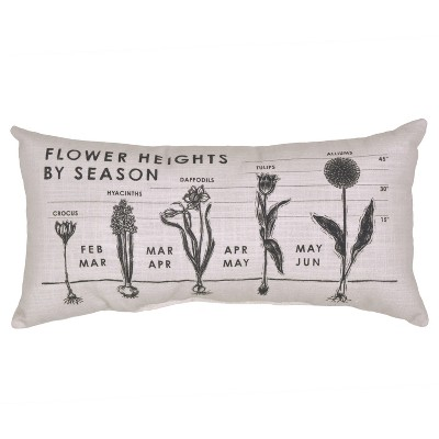 Outdoor Throw Pillow Lumbar - Flower Heights - Threshold™
