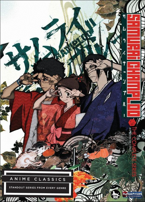 Samurai champloo:Complete series (DVD) - image 1 of 1
