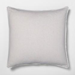 Euro Pillow Sham Linen Blend - Hearth & Hand™ with Magnolia