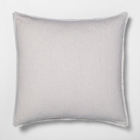Euro Pillow Sham Linen Blend Hearth Hand With Magnolia