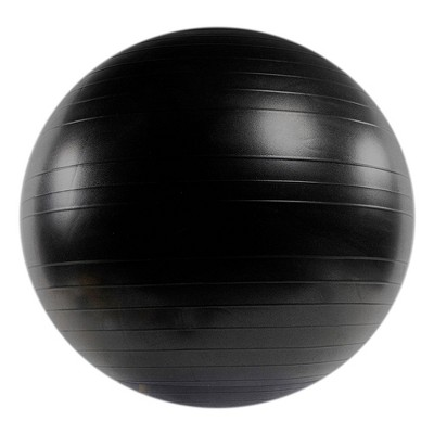 Power Systems Versa Exercise Yoga Training Balance Stability Workout Ball, Black