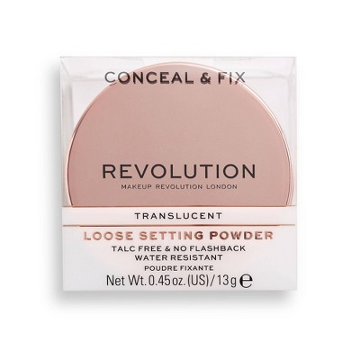 Makeup Revolution Conceal & Fix Loose Setting Powder - 0.45oz