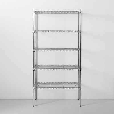 5 Tier Wire Shelf Chrome - Made By Design™