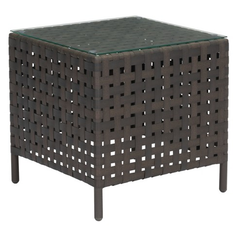 "22"" Modern Outdoor Side Table - ZM Home - image 1 of 3"