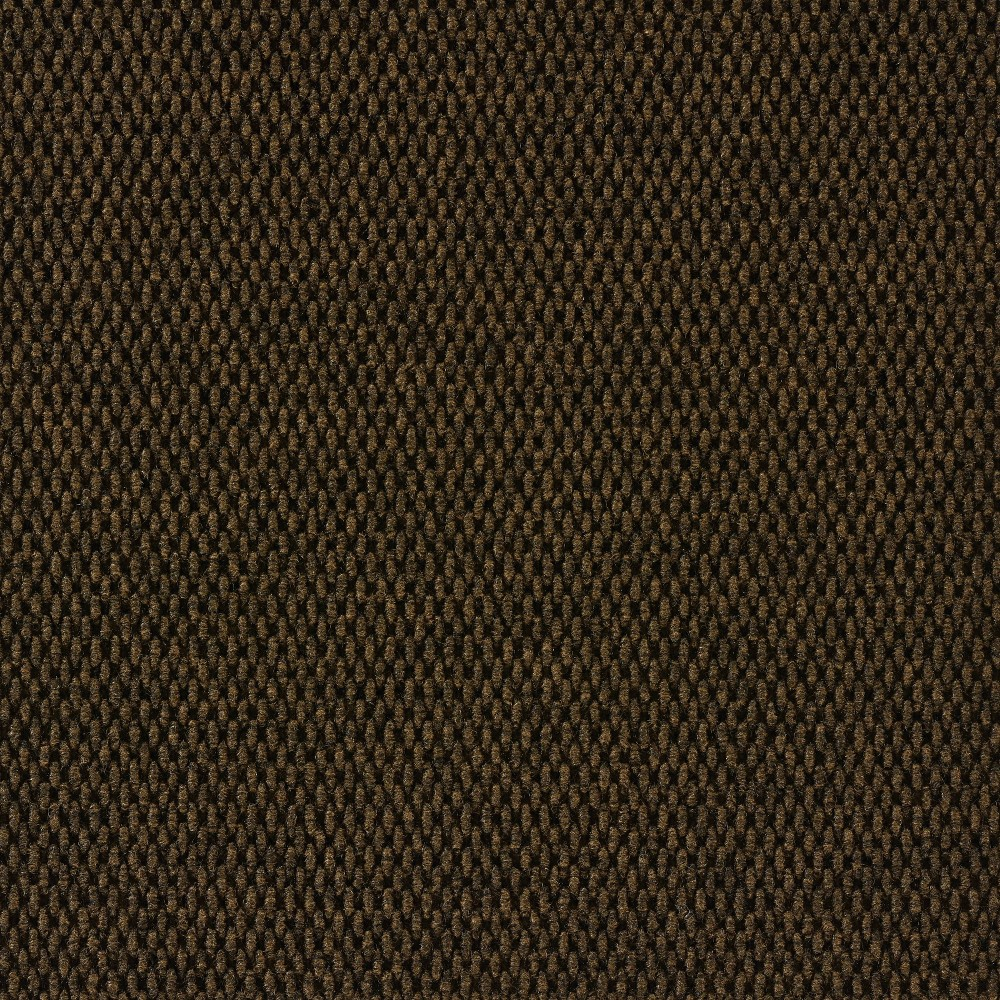 10pk Self Stick Carpet Tile Brown