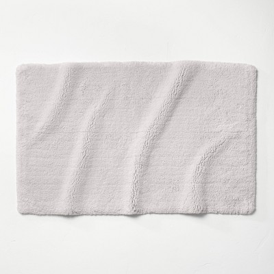 "24""x40"" Ultra Soft Tufted Bath Rug Light Gray - Casaluna™"