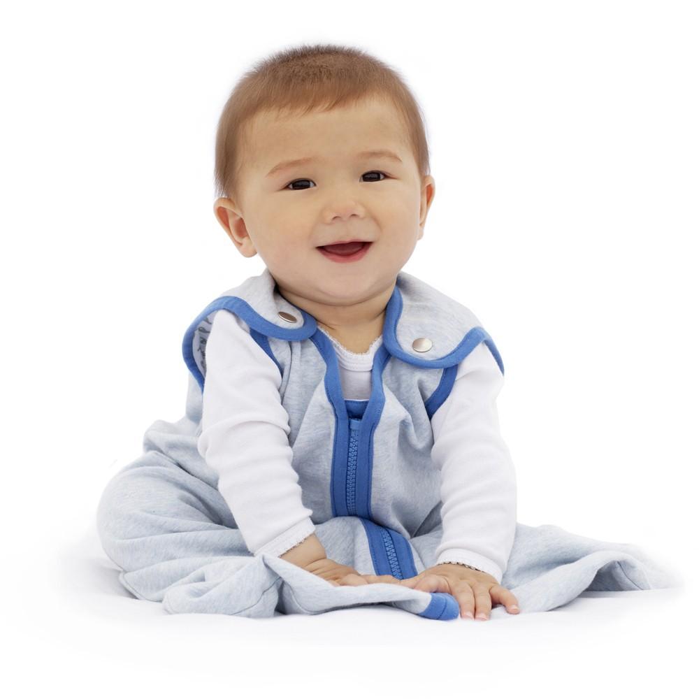 Check price baby deedee Sleep Nest Lite Heather Blue - L (18-36M)