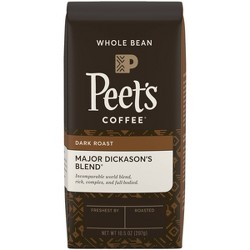 Peet's Major Dickason's Blend Dark Roast Whole Bean Coffee - 10.5oz