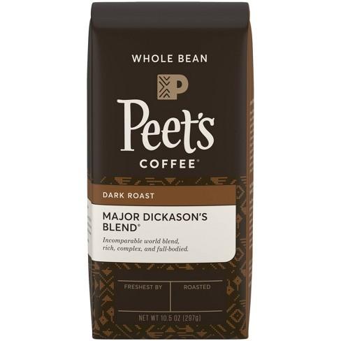 Peet's Major Dickason's Blend Dark Roast Whole Bean Coffee - 10.5oz - image 1 of 4