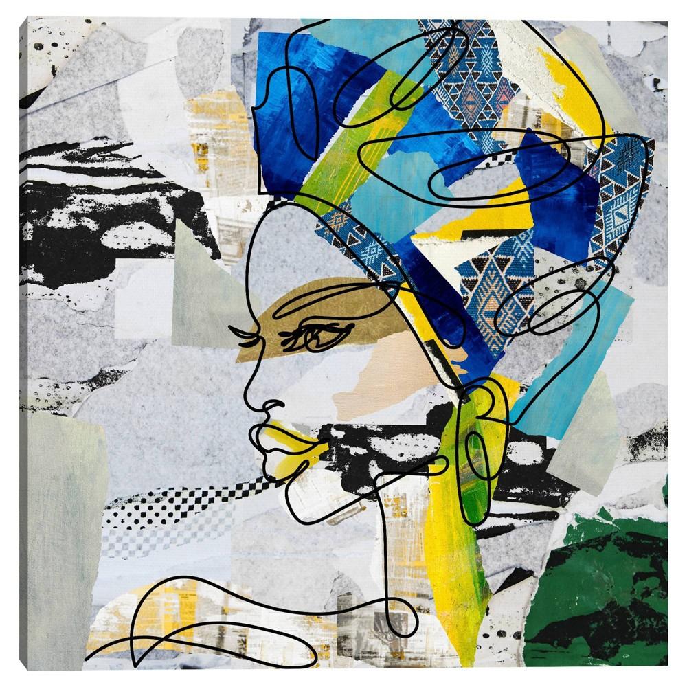 30 34 X 30 34 Turban Queen By Nikki Chu Canvas Art Print Masterpiece Art Gallery