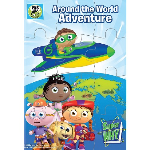 Super Why!: Around the World Adventure [Includes Puzzle] - image 1 of 1