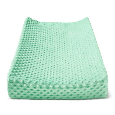 Plush Changing Pad Cover Solid - Cloud Island™ - Mint