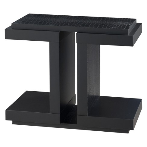 Kling Transitional End Table Black - HOMES: Inside + Out - image 1 of 3