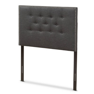 Windsor Modern And Contemporary Fabric Headboard - Baxton Studio