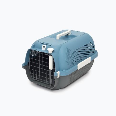 Catit Profile Voyageur Cat Carrier - S - Blue/Gray - image 1 of 4