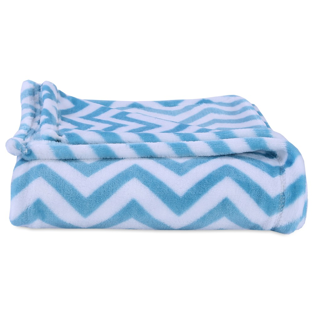 "Image of ""Throw Blankets Blue (50""""X60"""") - Better Living, Light Sky Blue"""