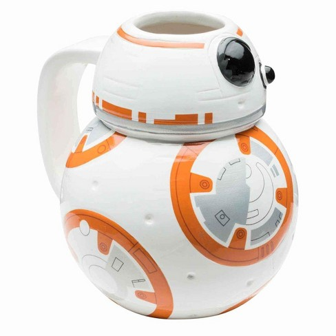 License 2 Play Inc Star Wars: The Force Awakens BB-8 Sculpted Ceramic Mug - image 1 of 1