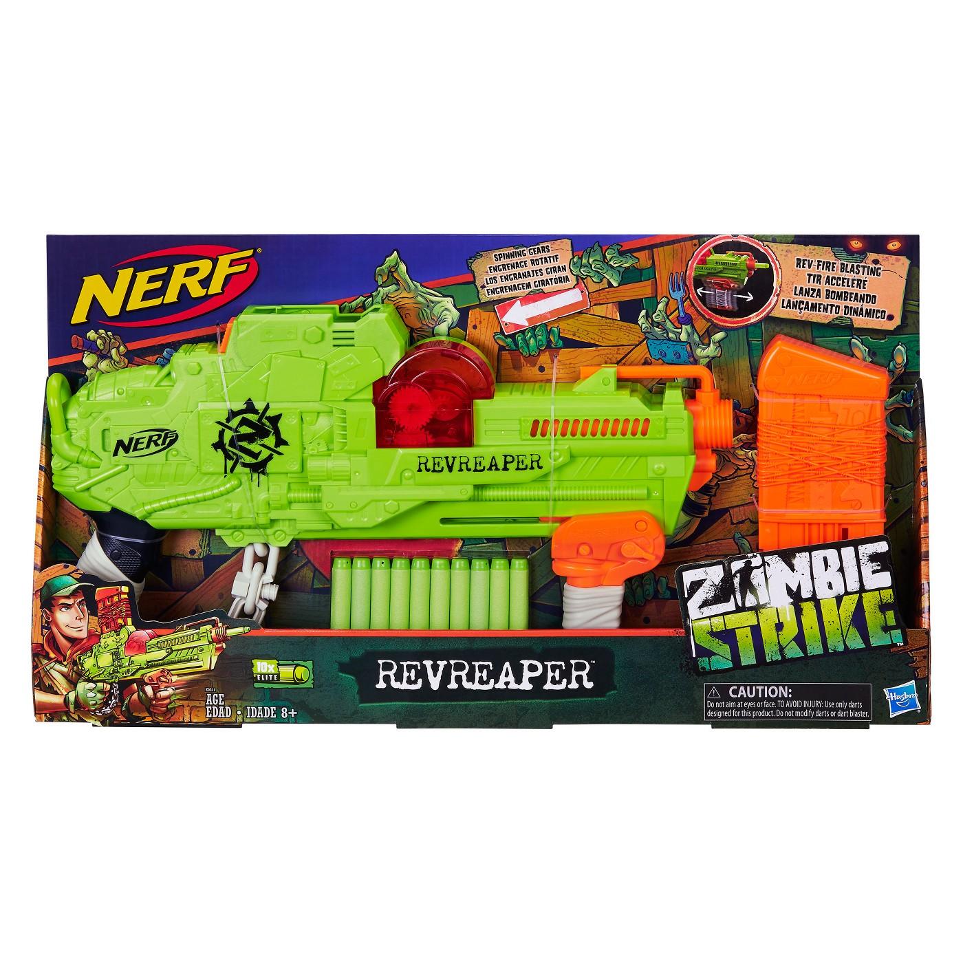 NERF Zombie Strike RevReaper Blaster - image 2 of 5