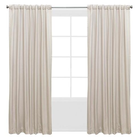 Shantung Window Curtain Panels Off White 50 X63 Target