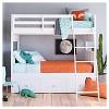 "14""X14"" Fox Square Throw Pillow Orange - Pillowfort™ - image 2 of 4"
