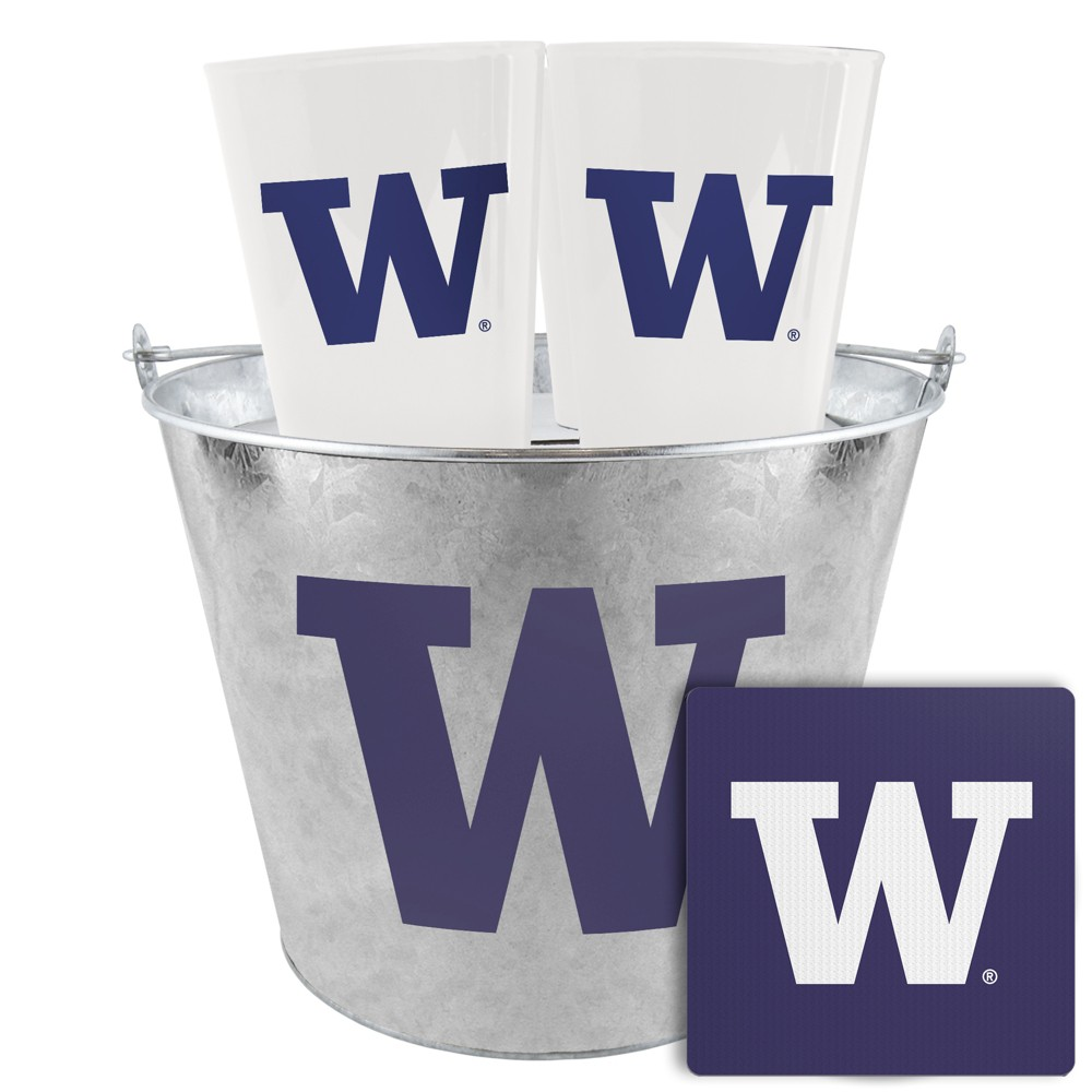 Washington Huskies Boelter Tailgate Bucket Set