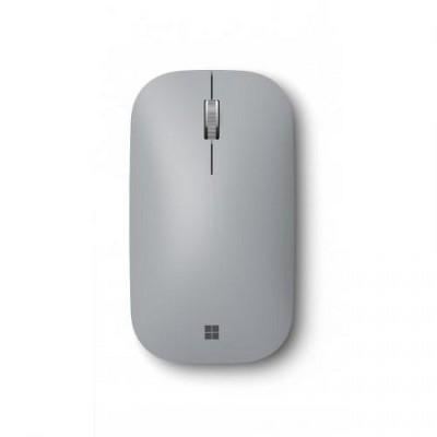 Microsoft Surface Mobile Mouse Platinum - Wireless - Bluetooth - Seamless scrolling - Light & portable - BlueTrack enabled