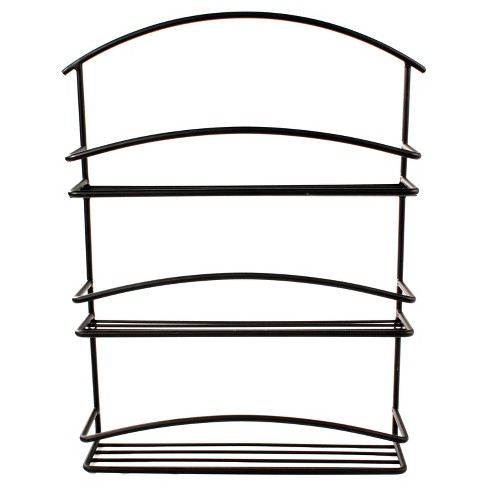 Wall Mount Spice Rack - Black - image 1 of 4