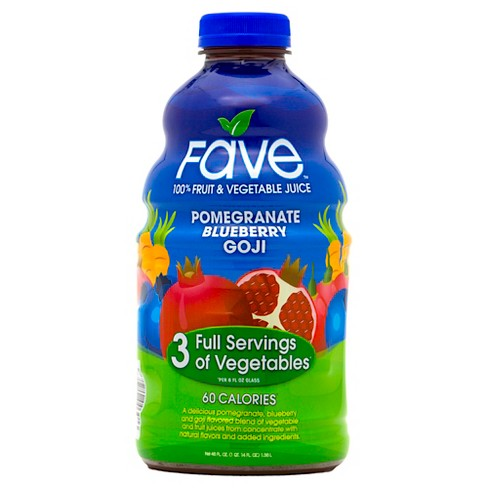 FAVE Pomegranate Blueberry Goji - 46 fl oz Bottle - image 1 of 2