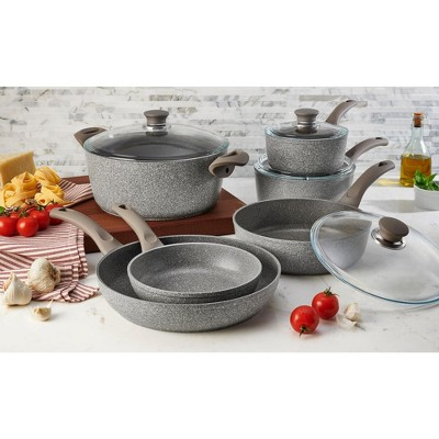 Ballarini Modena Forged Aluminum 10-pc Nonstick Cookware Set