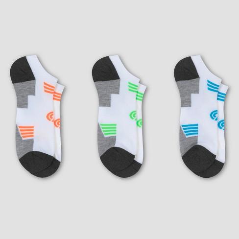 Men's Athletic Socks 3pk - C9 Champion® White 6-12 - image 1 of 2