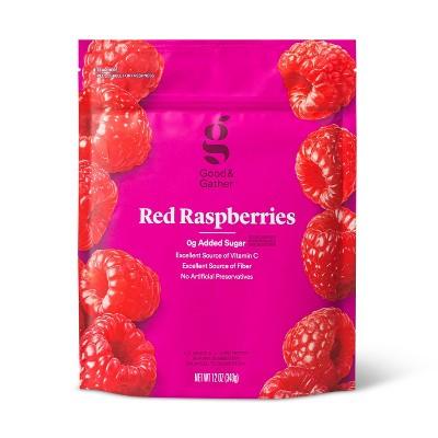 Frozen Red Raspberries - 12oz - Good & Gather™