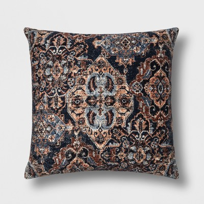 Distressed Oversized Square Throw Pillow - Threshold™