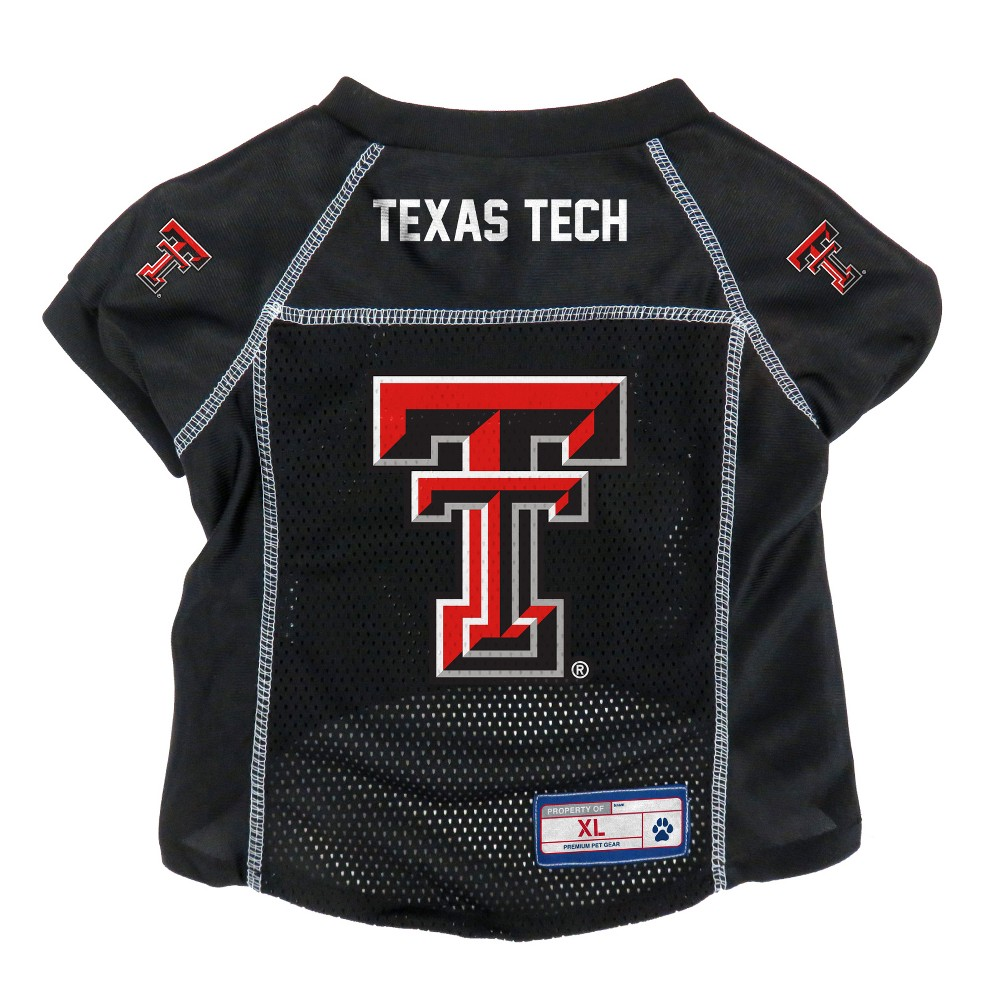 Texas Tech Red Raiders Little Earth Pet Football Jersey - XL, Multicolored