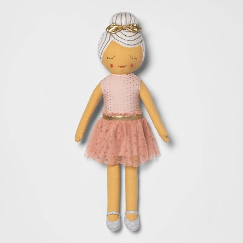 Ballerina Dress Throw Pillow - Pillowfort™ - image 1 of 4