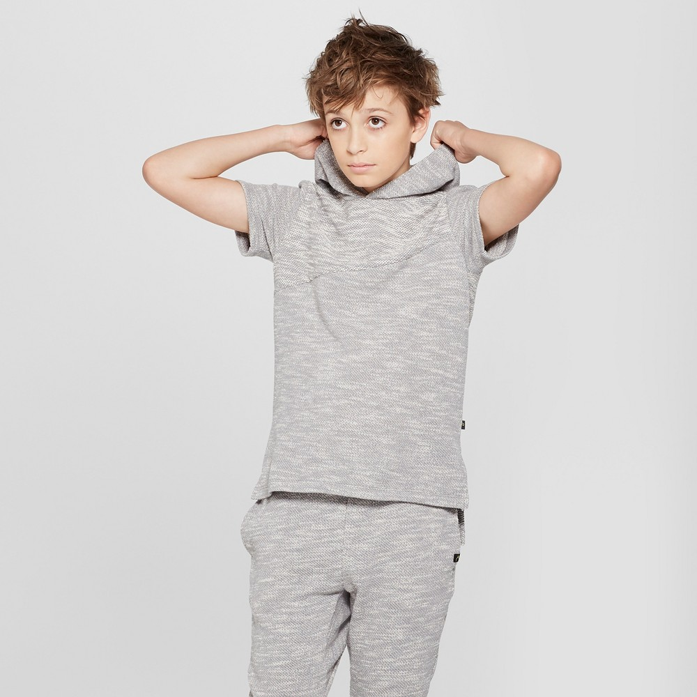 Boys' Short Sleeve Sweatshirt - art class Gray Xxl