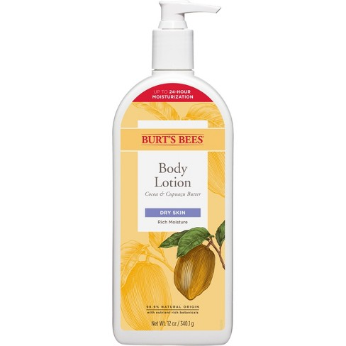 Burt's Bees Cocoa and Cupuacu Butters Body Lotion - 12oz - image 1 of 3
