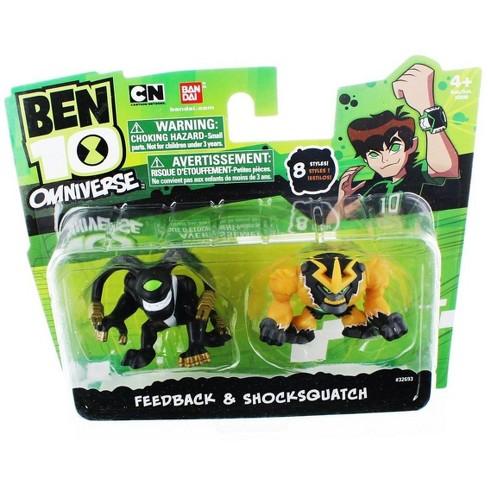 "Bandai Ben 10 Omniverse 2"" Mini Figure 2-Pack: Feedback & Shocksquatch - image 1 of 2"
