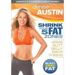 Denise Austin: Shrink Your 5 Fat Zones (DVD)