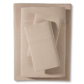 Jersey Sheet Set (Twin XL) Tan - Room Essentials™