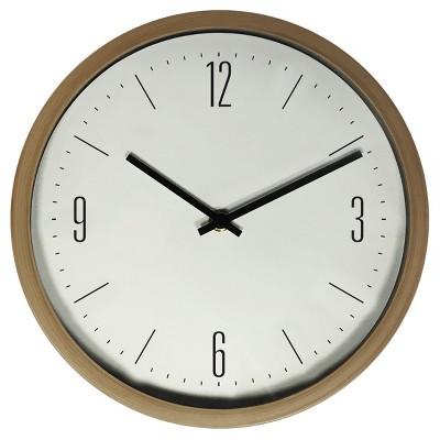 10  Wall Clock Oak Finish - Westclox®