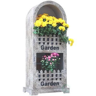 Gardenised Decorative Wall or Floor Garden Planter for Indoor or Outdoor Plants