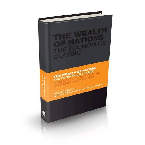 The Wealth of Nations - (Capstone Classics) by  Adam Smith (Hardcover) - image 1 of 1