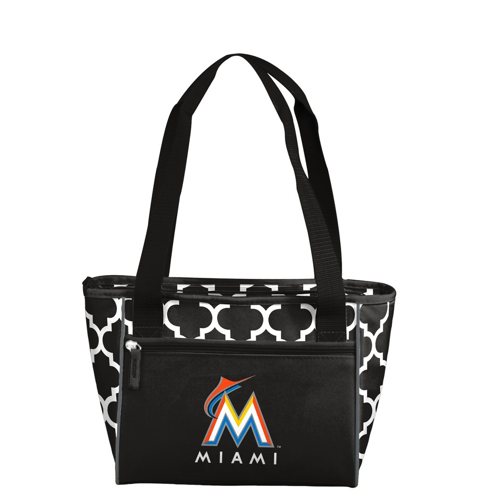 MLB Miami Marlins 16 Can Cooler Tote