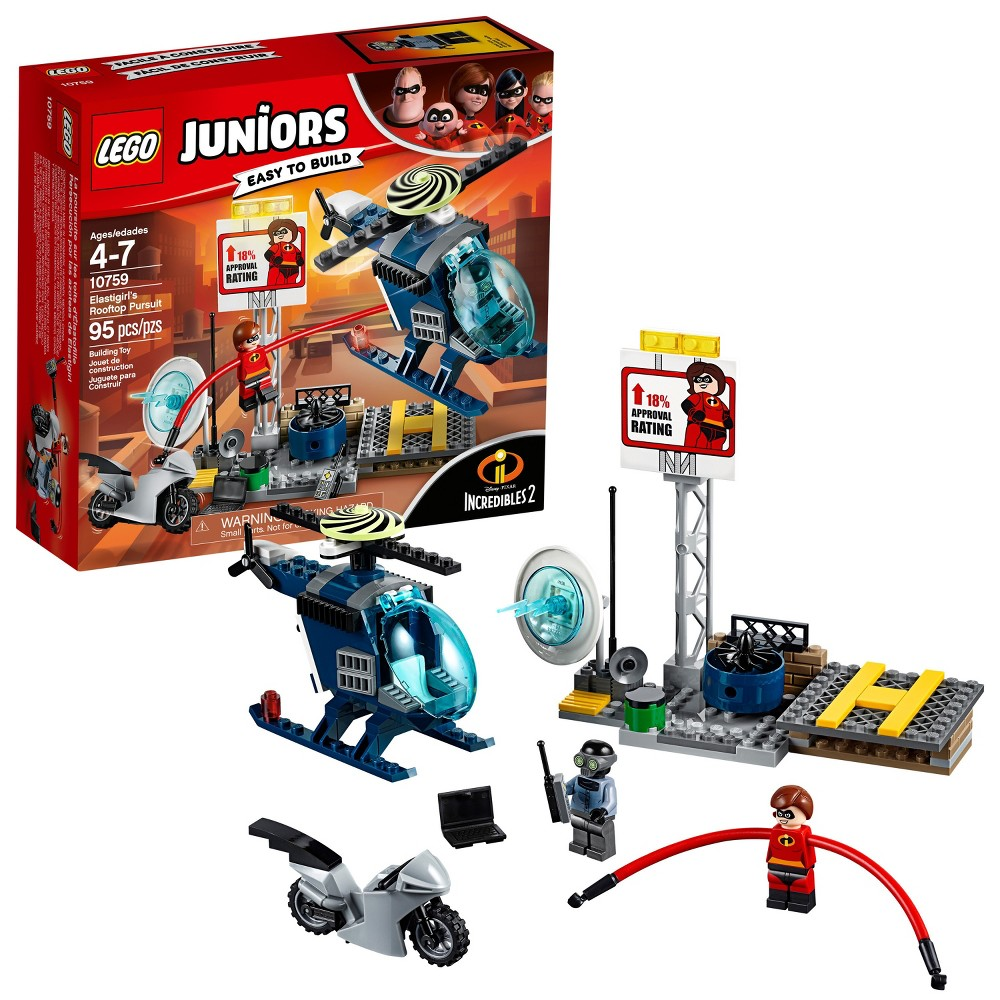 Lego Juniors Disney Incredibles 2 Elastigirls' Rooftop Pursuit 10759