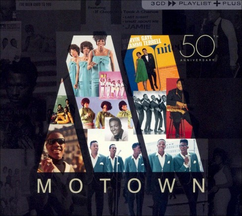 Various - Playlist Plus:Motown 50 (CD) - image 1 of 2