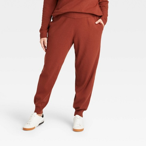 Women's Plus Size Pull-On Pants - Ava & Viv™ - image 1 of 3